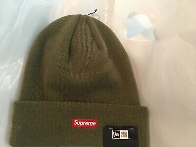 $ CDN82.09 • Buy Authentic Supreme X New Era Exclusive San Francisco Shop Olive Beanie