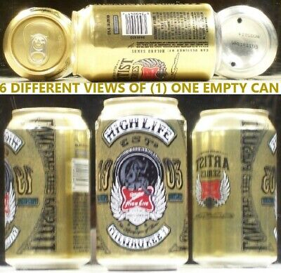 $2.95 • Buy Miller High Life Harley Davidson Aetist Series Can Milwaukee Wisconsin BE517
