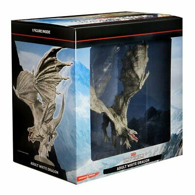 AU118.80 • Buy Dungeons & Dragons Icons Of The Realms Adult White Dragon Premium Figure