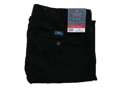 Mens BHS Atlantic Bay Pleat Front Active Waistband Comfort Chino 3 Colours 32-46 • 17.99£