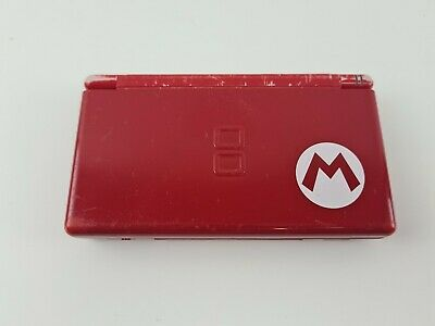 AU69.99 • Buy Nintendo DS Lite - Mario Red Special Edition - USB CHARGER - MISSING STYLUS