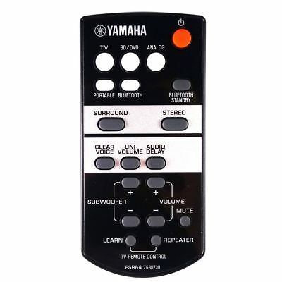 AU71.79 • Buy Genuine Yamaha FSR64 Soundbar Remote Control