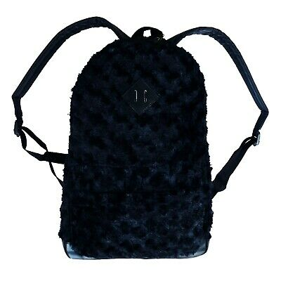AU25.71 • Buy Gothic Horror Punk 80s 90s Cosplay Black Fuzzy Furry Monster Puppet Fur Backpack