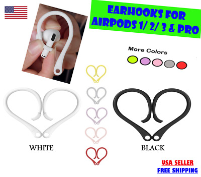 $ CDN5.25 • Buy AirPods Ear Hooks TPU Compatible With Apple AirPods Pro