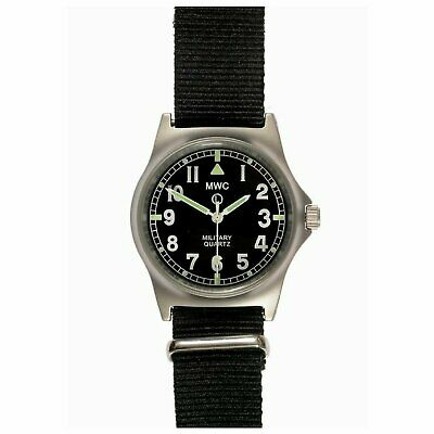 MWC G10 LM Military Watch Black Olive Grey,  No Date, 50m Water Resistance NEW  • 69.99£