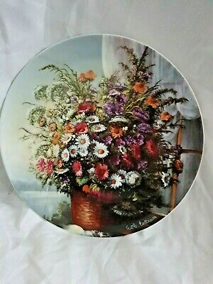 Rosenthal Classic  Rose  Flowers In The Window    Collector's Plate • 4£