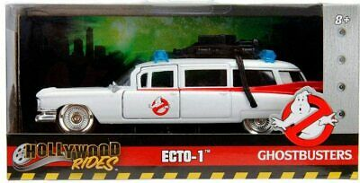Jada Toys Hollywood Rides 1:32 Scale Ghostbusters ECTO-1 Model Replica Car  • 17.99£