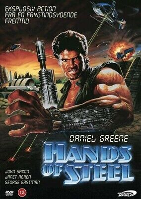 HANDS OF STEEL (DVD,2011) NEW&SEALED REGION 2 IMPORT AWE Cult CLASSIC 80's  • 9.99£