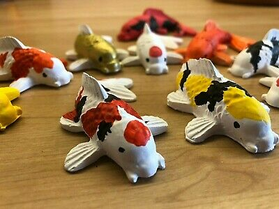 Koi Carp Fish Models - Hand Painted • 5.99£