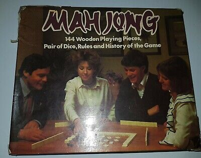 $27.80 • Buy Mah Jong Michael Stanfield Complete  Game Ancient Chinese Great Condition