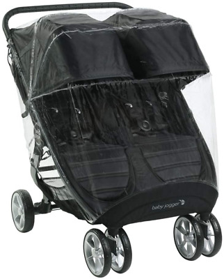 Baby Jogger Weather Shield Pushchair Rain Cover | For City Mini 2 Double & City • 44.88£
