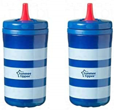 2 X Tommee Tippee 380ml FreeFlow Non Spill Drinking Super Sipper Beaker Cup, For • 12.99£