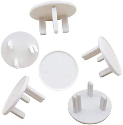 [Upgrade] 21 Packs BYETOO Baby Proofing UK Socket Plug Covers,White Outlet Child • 7.31£