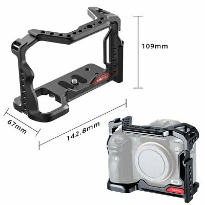 $ CDN77.41 • Buy UURig Metal Camera Cage Rig For Sony A73 A7III A7R3 A7M3 Extend Cold Shoe Mount