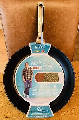 Jamie Oliver By Tefal Everyday Stainless Steel Frying Pan 28cm • 24.99£