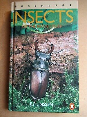 £9.50 • Buy Observers Book Of Insects 1987 Entomology Moths Lepidoptera Taxidermy