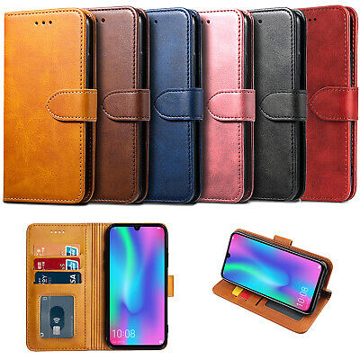 For Huawei P40 Y6 Honor 8S 10 Lite Case Luxury Leather Wallet Cover Stand Flip • 4.95£
