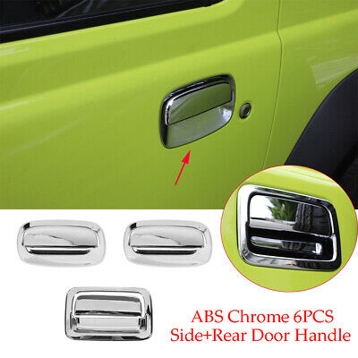AU89.99 • Buy Chrome ABS Side & Tailgate Door Handle Bowl Cover Fit For Suzuki Jimny 2019-2020