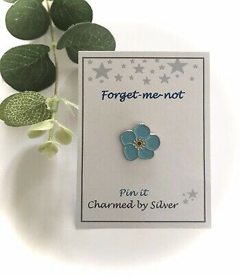 Forget-me-not Flower Enamel Pin • 5.50£