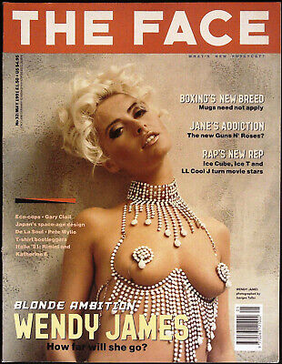 £29.95 • Buy THE FACE May 1991 WENDY JAMES Perry Farrell JANE'S ADDICTION Corinne Day @EXCLT