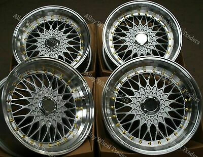 AU872.10 • Buy 15  Silver RS Alloy Wheels Fits Volkswagen Caddy Derby Polo Lupo Golf 4x100 GS