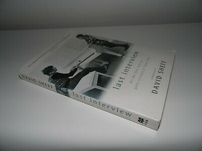 John Lennon / Yoko Ono Book - Last Interview, All We Are Saying -playboy/beatles • 15£