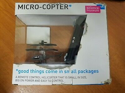 Science Museum Micro-Copter Remote Control Helicopter New Unopened • 19.99£