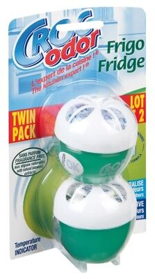 Croc Odor Twin Pack Fridge Fresh Neutralise Smell Odour Fresheners • 4.95£