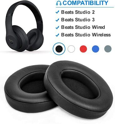 Soft Replacement Ear Pads For Beats By Dr. Dre Studio 2.0 / 3.0 Wired & Wireless • 4.90£