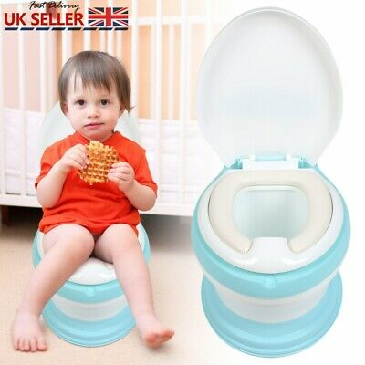 Portable Baby Potty Kids Children Training Simulation Toilet Trainer Stool Chair • 22.95£