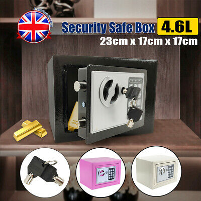 £20.79 • Buy Secure Digital Steel Safe Electronic Security Home Office Money Mini Safety Box
