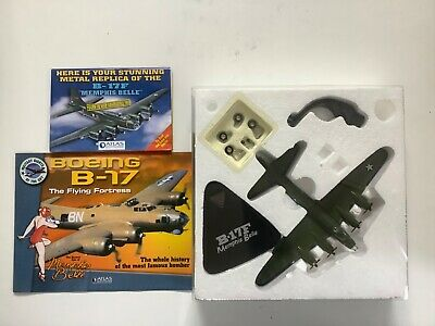 B-17F Atlas Editions Military Giants Of The  Sky Boeing Memphis Belle 1:144 • 11£
