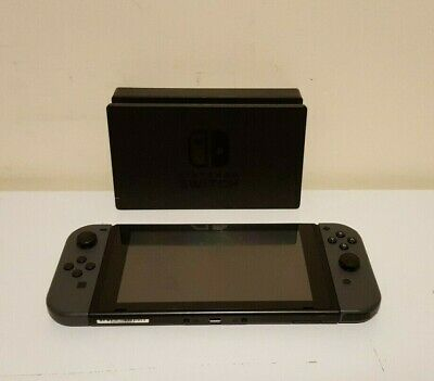 AU399.50 • Buy Nintendo Switch Console (Model HAC-001) With Grey Joy‑cons & Dock (No Charger)