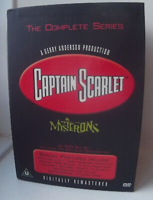 Captain  Scarlet  And  The  Mysterons  -  The  Complete  Series  - 6  DVD Boxset • 39.99£