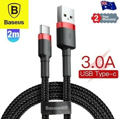 AU8.99 • Buy USB-C Type C Data & Charger Cable For Samsung Huawei Xiaomi Google Fast Charging