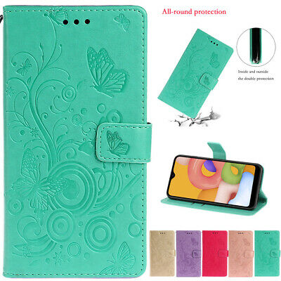 $ CDN6.23 • Buy For Samsung Galaxy A51 A71 S9 Case Butterfly Wallet Flip Card Stand Phone Cover