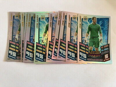 £4.99 • Buy Match Attax Extra 2012/2013 12/13 Joe Hart Manchester City Limited Edition X 10
