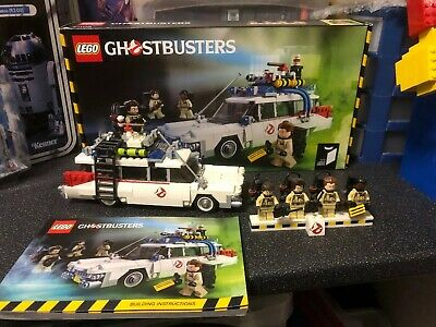 Lego Ideas #006 21108 Ghostbusters Ecto-1 Complete With Figures Box & Booklet • 75£