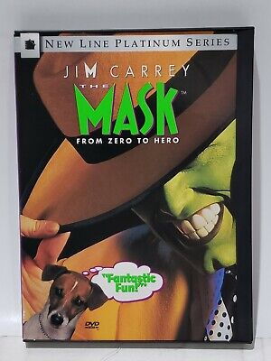 $8 • Buy The Mask (DVD, 1997, Standard And Letterbox)
