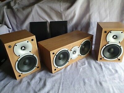 Eltax Silverstone Rear And Center Speakers • 50£