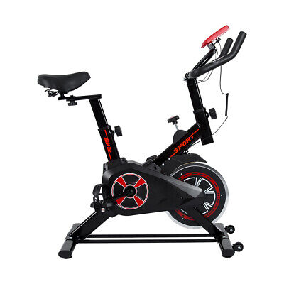 Spin Sport Bike Exercise Fitness Cardio Indoor Aerobic Machine Home Gym • 109£
