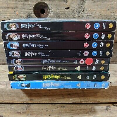 $ CDN35.07 • Buy Harry Potter - The Complete 8 Film Collection/Set (DVD 2 Disc Edition) Years 1-7