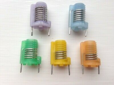 TOKO S18 Moulded RF Coils, Ferrite Screw Core, Various Colours • 1£