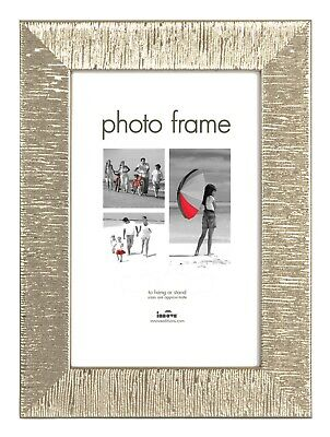 A4 Certificate Photo Picture Frame Silver Glass Front With Stand Hanging Hook • 4.99£