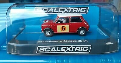 Scalextric  Mini Cooper S RAC Rally 1966 G.Hill & M.Boyd Brand New C3747 • 40£