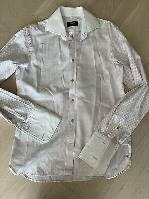 Mens Check Shirt By Aston Martin Size 16 • 9.99£