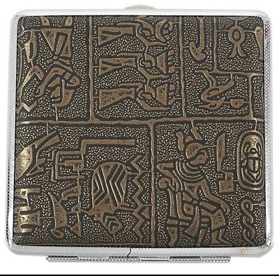 High Quality Egyptian Style Vintage Large Cigarette Case/Box • 12.99£
