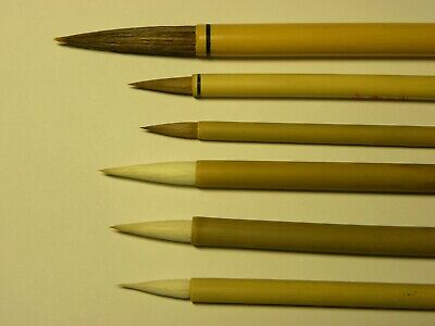 6pcs Set Chinese Paint Brushes For Calligraphy Watercolour Drawing PaintingWB17  • 5.99£