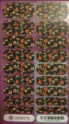 AU9 • Buy Jamberry Nail Wraps Full Sheets *RETIRED* 2014  Reminisce (Matte)