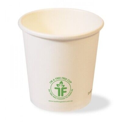 AU3.95 • Buy Tree Free Coffee Shot Cup 4oz Pack Of 50 Tableware Party Supplies